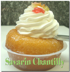 Savarin chantilly